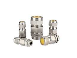 Brass armoured cable glands